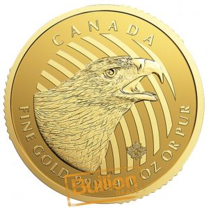Canadian Golden Eagle Gold 1 oz Coin reverse.png