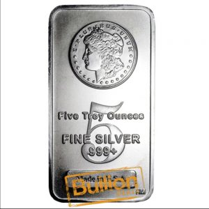 Morgan 5 oz silver bar obverse.png