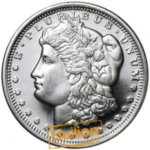 Morgan Dollar Design Silver 0.5 oz Round obverse.png