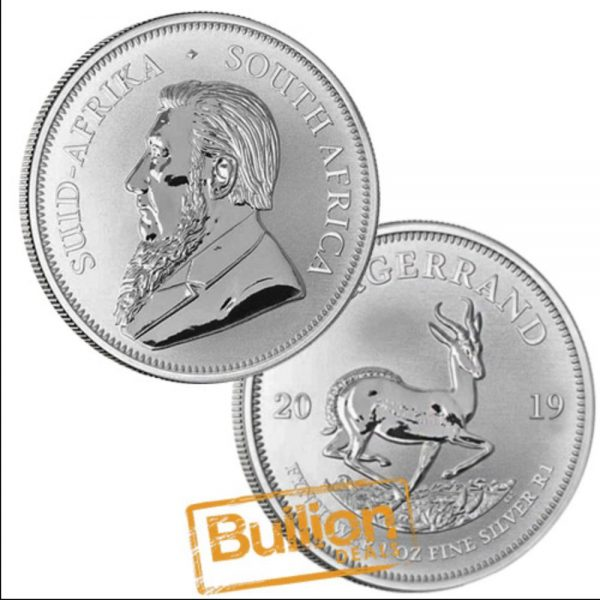South African Krugerrand Silver 1 oz Coin.png