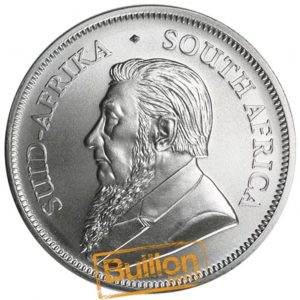 South African Krugerrand Silver 1 oz Coin obverse.png