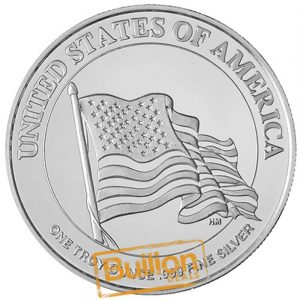 Uncle Sam Silver 1 oz Round reverse.png