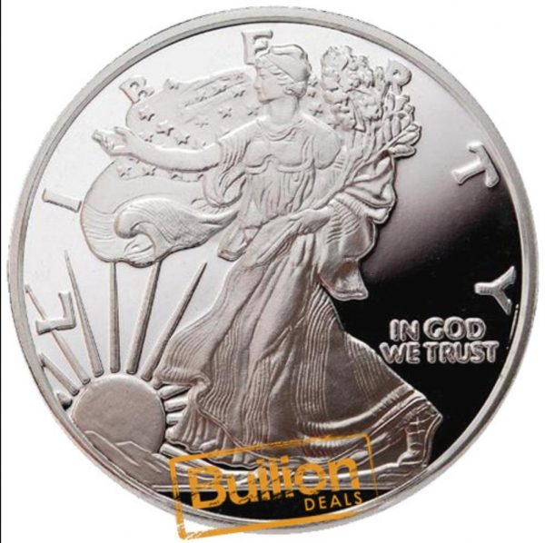 Walking Liberty 1 oz silver round reverse.png