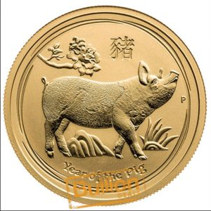 Year of the Pig Perth Gold 0.05 oz Coin reverse.png