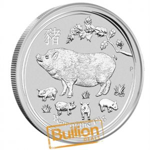 Year of the Pig Perth Silver 1 kg Coin reverse.png