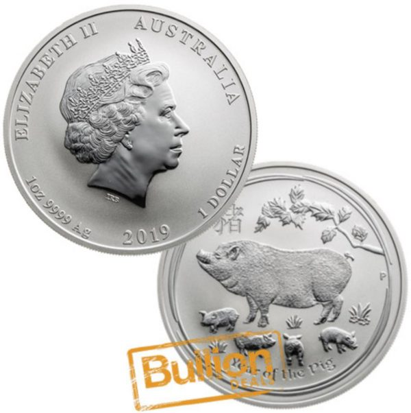 Year of the Pig Perth Silver 1 oz Coin.png