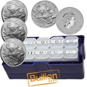 2018 Australian Koala Mother and Baby Piedforts Silver 500 Coins 5xMonster Boxes.jpg