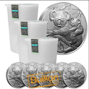2018 Australian Koala Mother and Baby Piedforts Silver tube.jpg