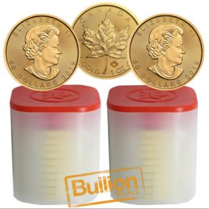 2019 Canadian Gold Maple Leaf 20 Coins 2xTubes.jpg