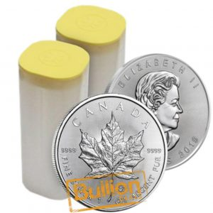 2019 Canadian Maple Leaf Silver 300 Coins 12xTubes.jpg