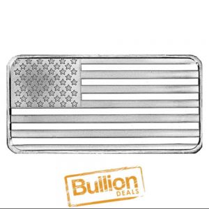 American Flag Design Silver 10 oz Bar obverse.jpg