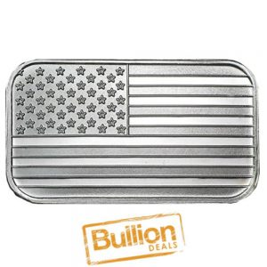 American Flag Design Silver 1 oz Bar obverse.jpg