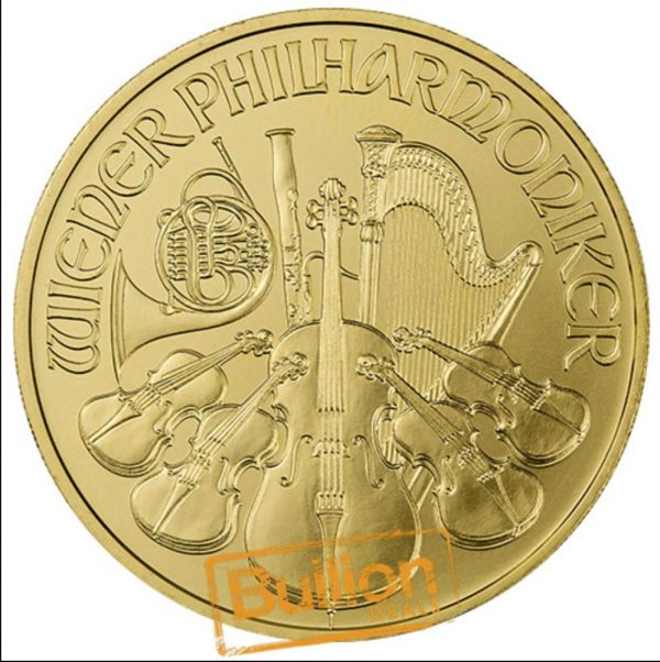 Austrian Philharmonic Gold 1 oz Coin revers.jpg