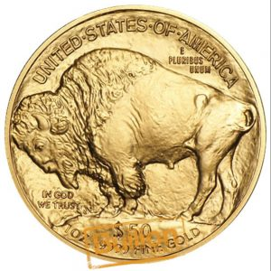 Buffalo Gold 1 oz Coin reverse.jpg