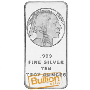 Buffalo Silver 10 oz Bar obverse.jpg