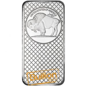 Buffalo Silver 10 oz Bar reverse.jpg