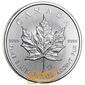 Canadian Maple 1 oz silver coin obverse.jpg