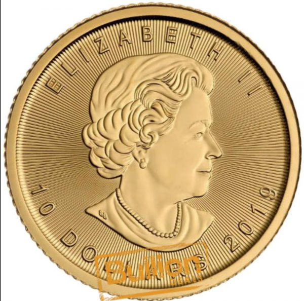 Canadian Maple Gold 0.25 oz Coin obverse.jpg