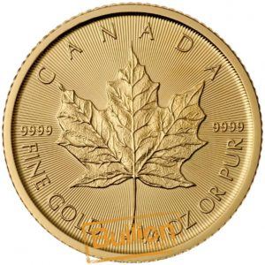 Canadian Maple Gold 0.25 oz Coin reverse.jpg