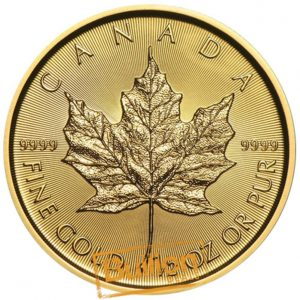 Canadian Maple Gold 0.5 oz Coin reverse.jpg