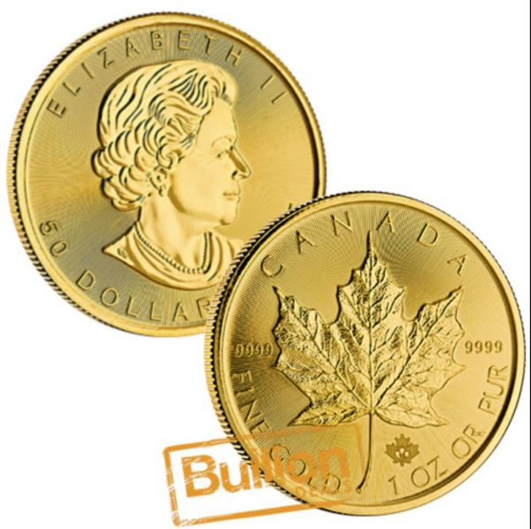 Canadian Maple  Various Dates  Gold 1 oz Coin .jpg