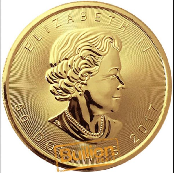 Canadian Maple  Various Dates  Gold 1 oz Coin obverse.jpg