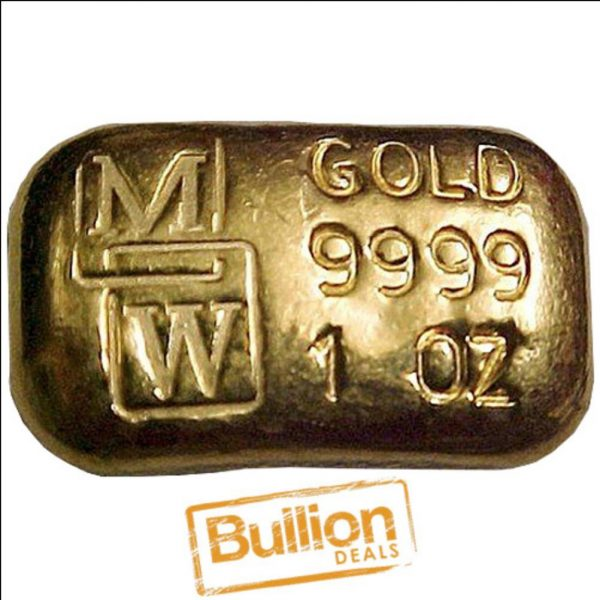 MW Gold 1 oz Bar obverse.jpg