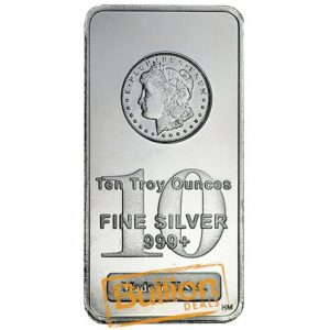 Morgan 10 oz silver bar obverse.jpg