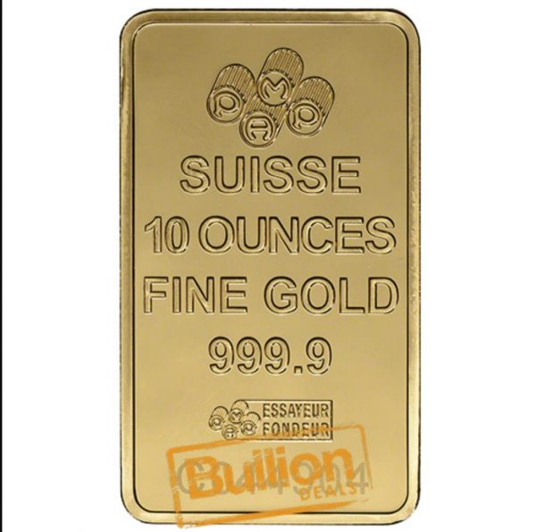 Pamp Suisse Fortuna Gold 10 oz Bar obverse.jpg