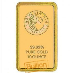 Perth Mint Gold 10 oz Bar obverse.jpg