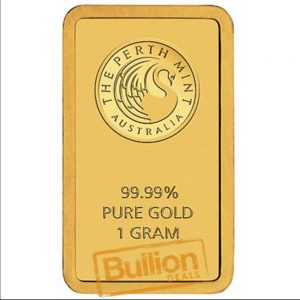 Perth Mint Gold 1 g Bar obverse.jpg