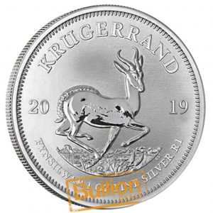 South African Krugerrand Silver 1 oz Coin reverse.jpg