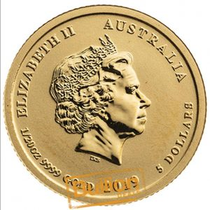 Year of the Pig Perth Gold 0.05 oz Coin obverse.jpg