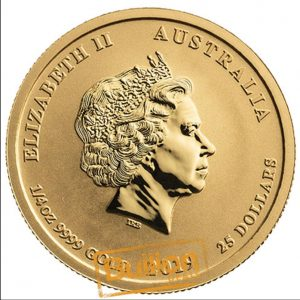 Year of the Pig Perth Mint Gold 0.25 oz Coin obverse.jpg