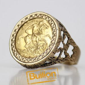 British Sovereign Gold 3.99 g Coin Ring.jpg